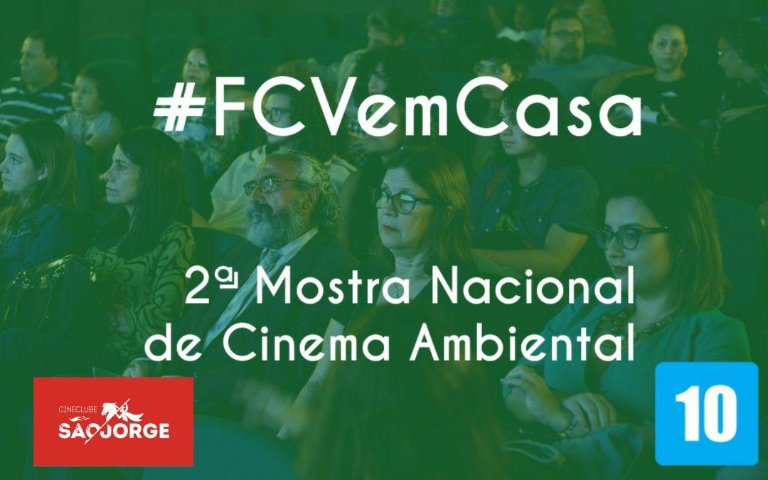 #FCVemCasa: 2ª Mostra Nacional de Cinema Ambiental