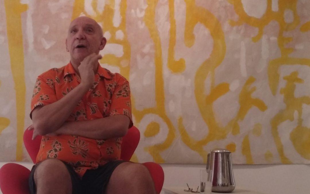 Hélio Coelho: artista referencial da geração 80 inspira identidade visual do 27FCV