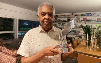 Gilberto Gil recebe homenagem no 27º Festival de Cinema de Vitória