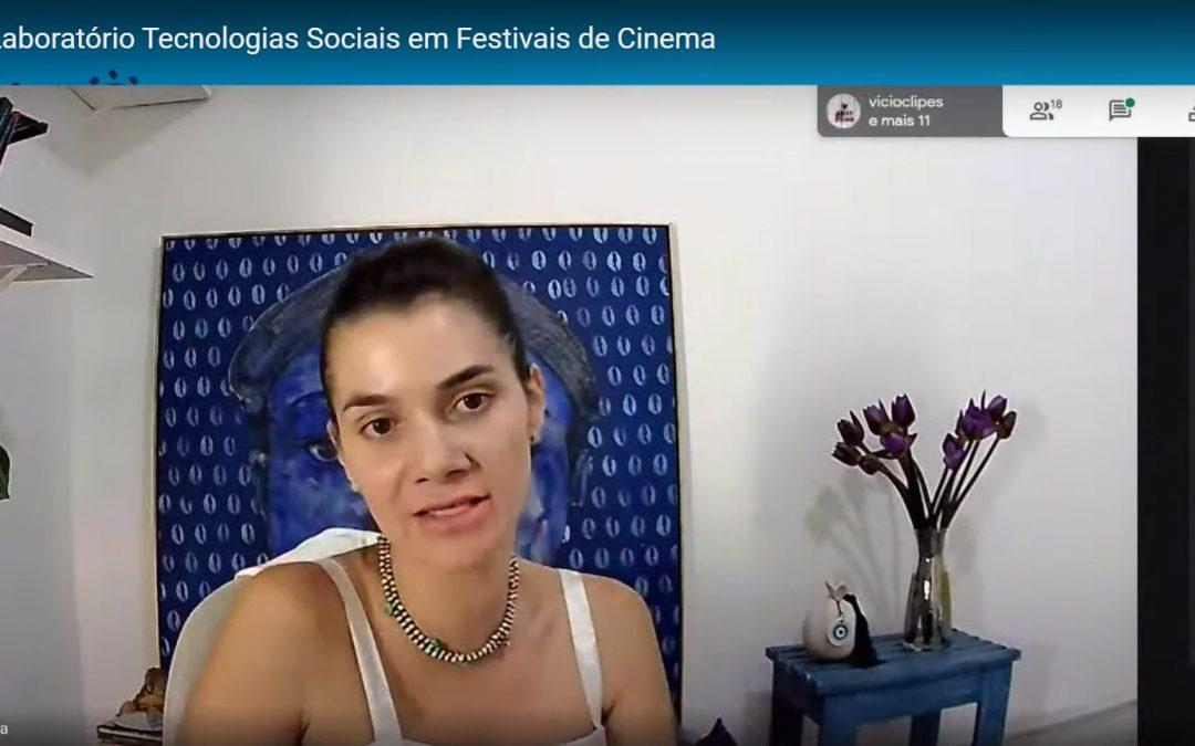 Encontro sobre produção executiva marca o início do Laboratório Criativo – Tecnologias Sociais nos Festivais de Cinema
