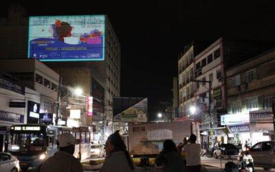 27º FCV – Cultura Solidária: Vídeo Mapping percorreu cidades da Grande Vitória com fotos da exposição Virtuais