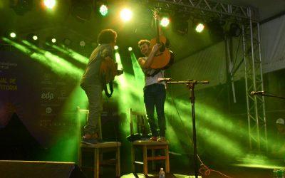 Chico Chico e João Mantuano na Tenda Musical do 26ºFCV