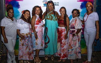 Samba pras Moças encerra a programação do 26FCV Itinerante em Manguinhos