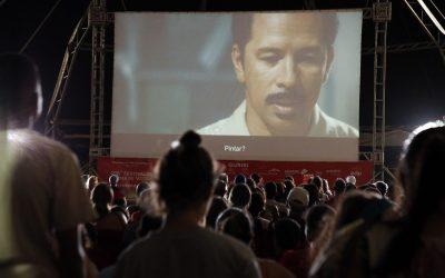 Público lota a quarta sessão do 26FCV Itinerante em Guriri