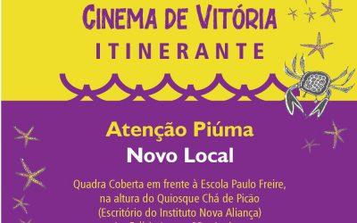 26FCV Itinerante – Piúma muda local de exibição
