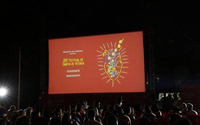 Samba e cinema fecham a programação do 26FCV Itinerante