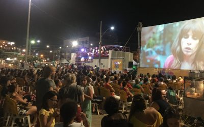 A Ilha de Guriri recebeu sessões do 24º Festival de Cinema de Vitória Itinerante